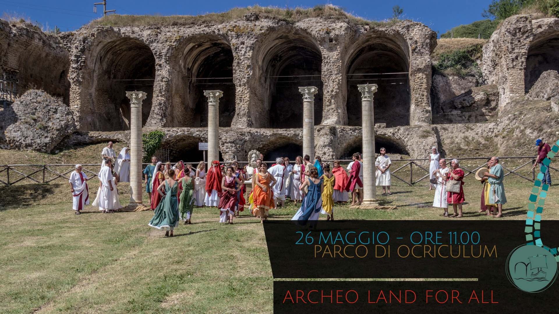 26 MAGGIO: ARCHEO LAND FOR ALL